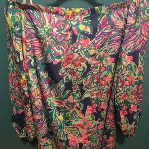 Lilly Pulitzer Off the Shoulder dress